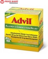 Advil Allergy & Congestion Relif 50*2