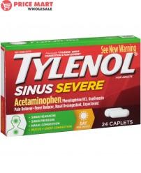 Tylenol 'sinus' Caplets 24's