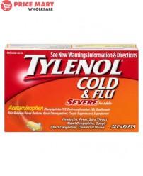 Tylenol 'Cold' Caplets  24's