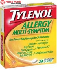 Tylenol Cold Multi symptom Caps 24's