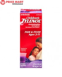 Tylenol Children's Liquid 3.38oz